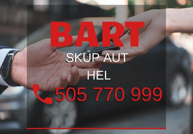 skup aut Gdynia BART - Skup aut za gotówkę