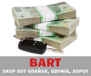 Gotówka po sprzedaży auta w skupie BART w Gdańsku